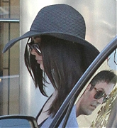 Megan and Brian at At Salon Benjamin with Brian in West Hollywood - October 1