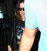 Megan Fox Arriving at LAX Airport - June 21