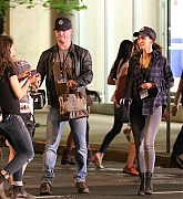 Megan Fox and Stephen Amell Film Teenage Mutant Ninja Turtles 2 on May 28, 2015