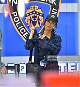 Megan Fox and Stephen Amell Film Teenage Mutant Ninja Turtles 2 on May 28, 2015