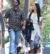 Megan Fox Films Zeroville in Los Angeles - November 15